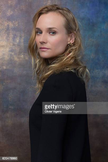 Actress Diane Kruger is photographed for Self Assignment on September 3 2016 in Deauville France