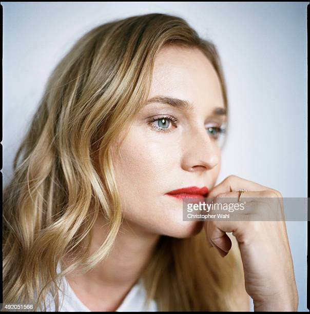 Actress Diane Kruger is photographed for The Globe and Mail on September 15 2015 in Toronto Ontario