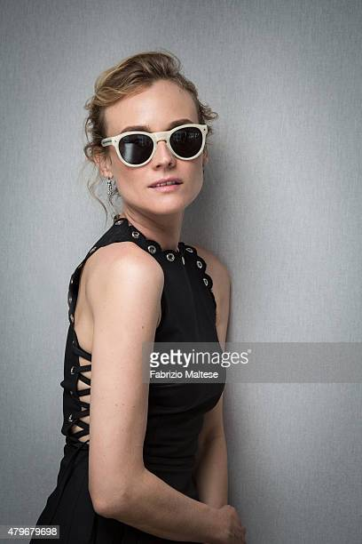 Actress Diane Kruger is photographed for The Hollywood Reporter on May 15 2015 in Cannes France