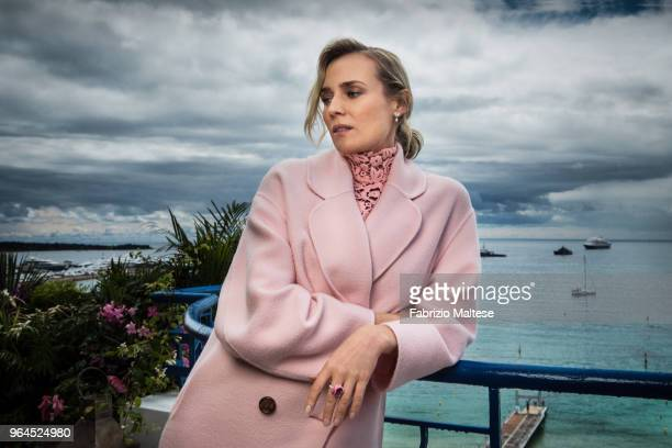 Actress Diane Kruger is photographed for The Hollywood Reporter, on May, 2018 in Cannes, France. . .