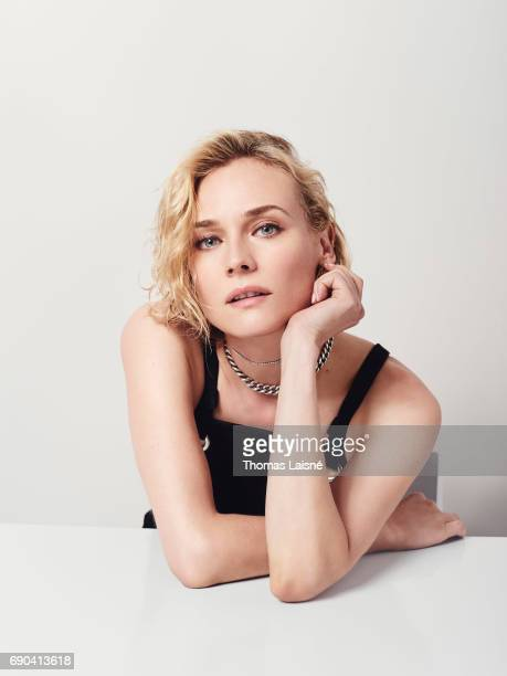Actress Diane Kruger is photographed on May 25 2017 in Cannes France