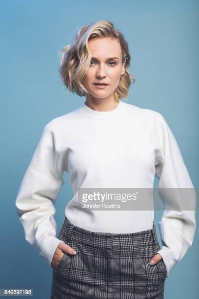 Actress Diane Kruger of 'Into the Fade' is photographed at the 2017 Toronto Film Festival on September 13 2017 in Toronto Ontario
