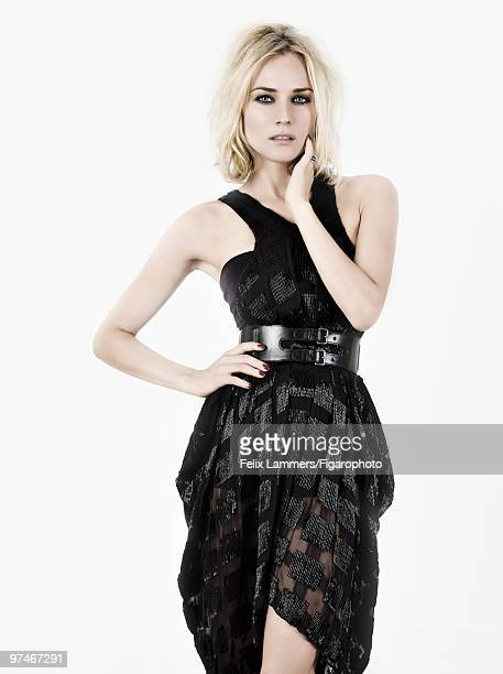 Actress Diane Kruger poses at a portrait session for Madame Figaro Magazine in 2008 PUBLISHED IMAGE CREDIT MUST READ Felix...