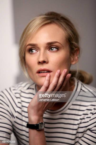 Actress Diane Kruger poses for a portrait during the Variety Studio powered by Samsung Galaxy at Palihouse on May 29 2014 in West Hollywood California