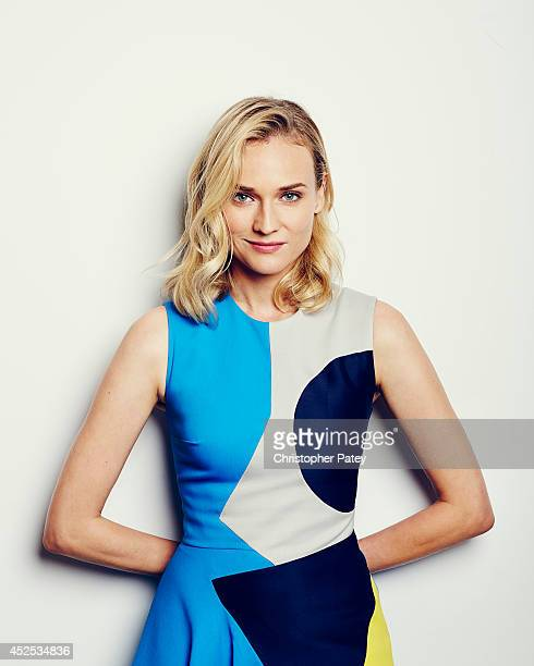 Actress Diane Kruger poses for a portrait session at the summer Television Critics Association for the FX network on July 21 2014 in Beverly Hills...