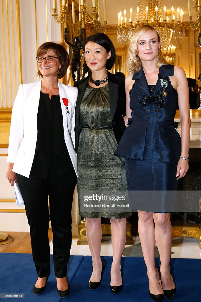 Diane Kruger Decorated At Ministere Of Culture In Paris