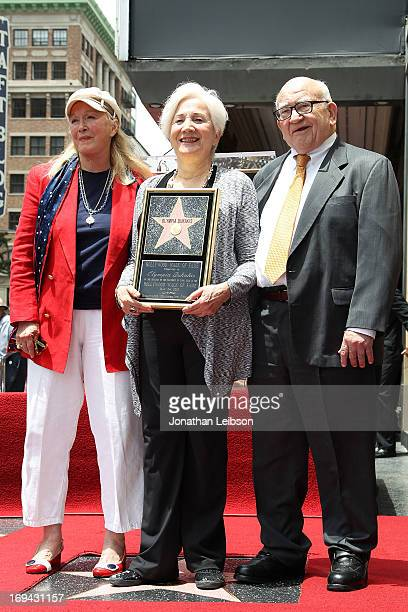 Actress Diane Ladd Actress Olympia Dukakis and Actor Ed Asner attend Olympia Dukakis Honored being With Star On The Hollywood Walk Of Fame on May 24...