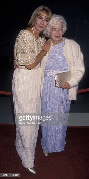 Actress Diane Ladd and mother Mary Lanier attending 'Hollywood Legacy Awards Benefiting Enterntainment Museum' on November 12 1994 at the Hollywood...