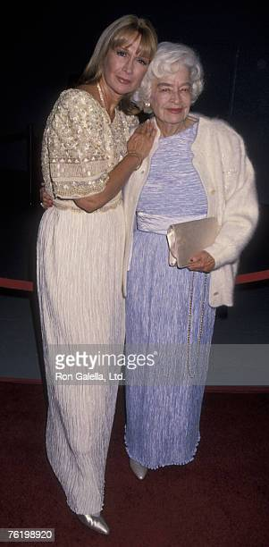 Actress Diane Ladd and mother Mary Lanier attending Hollywood Legacy Awards on November 12 1994 at the Hollywood Palladium in Hollywood California