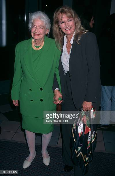 Actress Diane Ladd and mother Mary Lanier attending the Los Angeles premiere of Citizen Ruth on November 21 1996 at Laemmle Sunset 5 Theater in West...