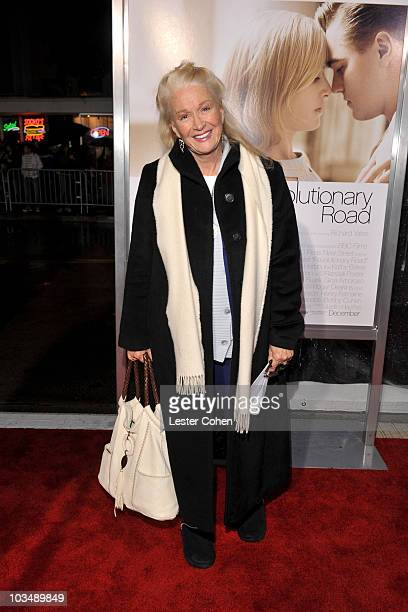 Actress Diane Ladd arrives at the Los Angeles premiere of Revolutionary Road held at the Mann Village Theater on December 15 2008 in Westwood...