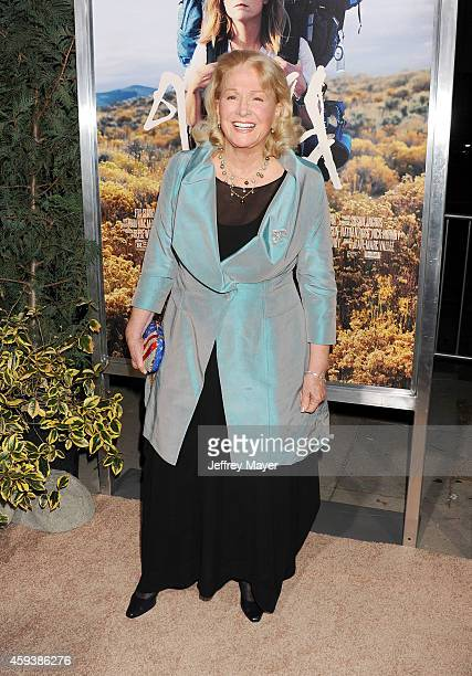 Actress Diane Ladd arrives at the Los Angeles premiere of 'Wild' at AMPAS Samuel Goldwyn Theater on November 19 2014 in Beverly Hills California