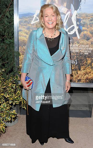 Actress Diane Ladd arrives at the Los Angeles Premiere Wild at AMPAS Samuel Goldwyn Theater on November 19 2014 in Beverly Hills California