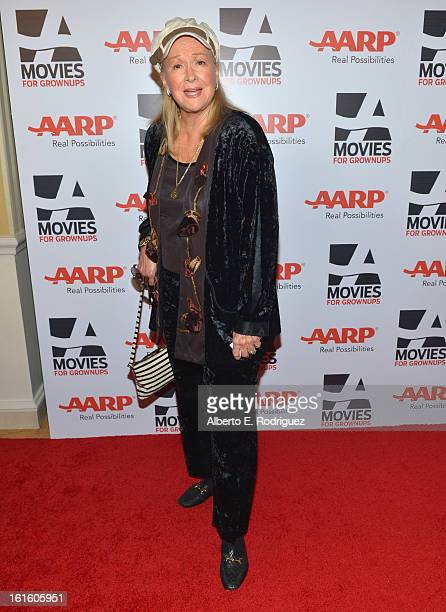 Actress Diane Ladd arrives to AARP The Magazine's 12th Annual Movies for Grownups Awards Luncheon at Peninsula Hotel on February 12 2013 in Beverly...