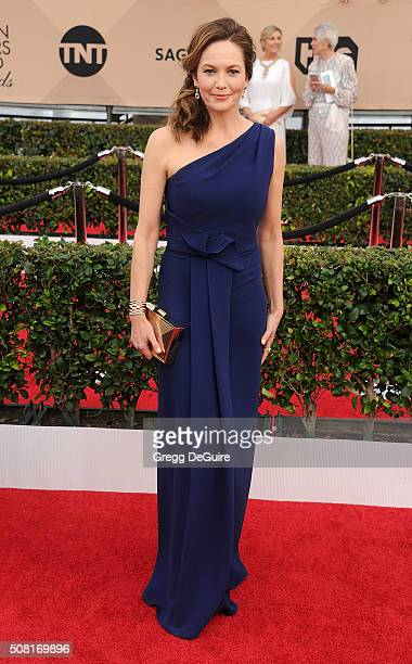 Actress Diane Lane arrives at the 22nd Annual Screen Actors Guild Awards at The Shrine Auditorium on January 30 2016 in Los Angeles California