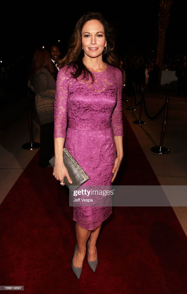 Actress Diane Lane arrives at the 24th annual Palm Springs International Film Festival Awards Gala at the Palm Springs Convention Center on January 5, 2013 in Palm Springs, California.