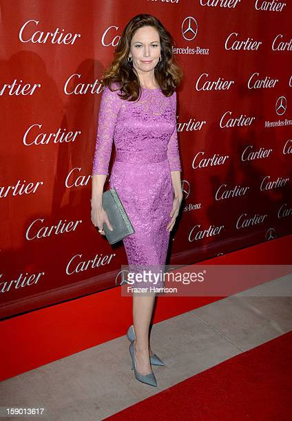 Actress Diane Lane arrives at the 24th annual Palm Springs International Film Festival Awards Gala at the Palm Springs Convention Center on January 5...