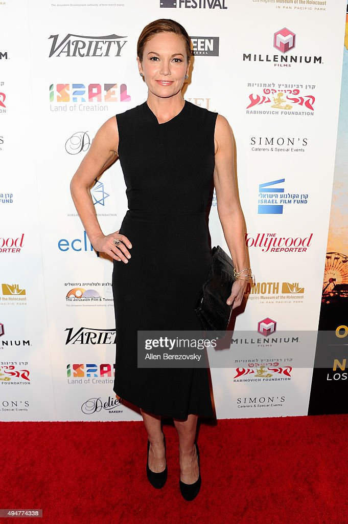 Actress Diane Lane arrives at the 29th Israel Film Festival's Opening Night Gala at Saban Theatre on October 28, 2015 in Beverly Hills, California.