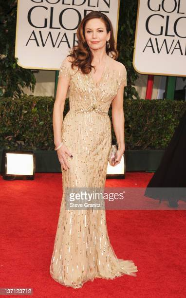 Actress Diane Lane arrives at the 69th Annual Golden Globe Awards held at the Beverly Hilton Hotel on January 15 2012 in Beverly Hills California