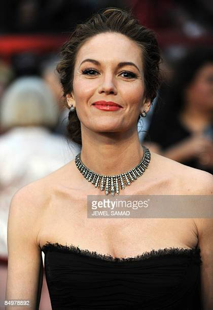 Actress Diane Lane arrives at the 81st Academy Awards at the Kodak Theater in Hollywood California on February 22 2009 AFP PHOTO Jewel SAMAD