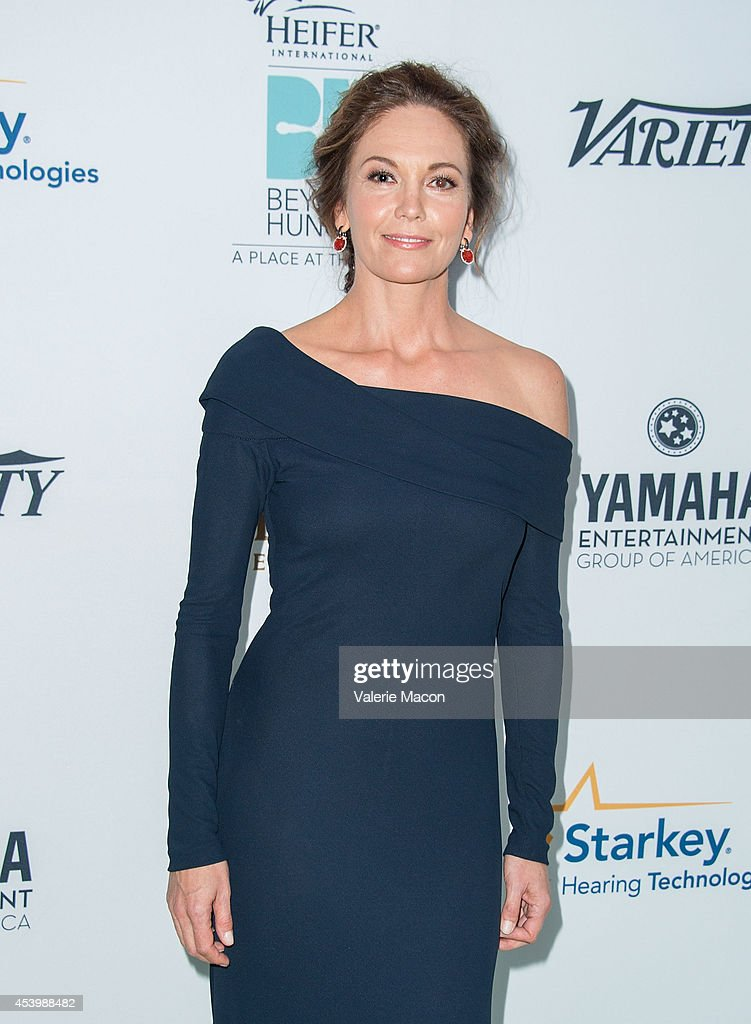 Actress Diane Lane arrives at the Heifer International's 3rd Annual 'Beyond Hunger: A Place At The Table' Gala at Montage Beverly Hills on August 22, 2014 in Beverly Hills, California.