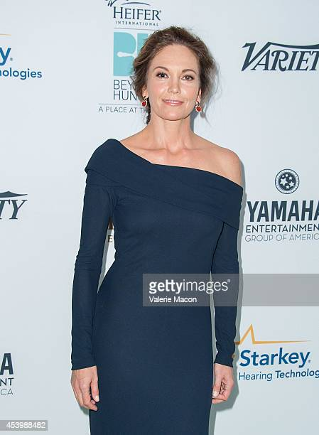 Actress Diane Lane arrives at the Heifer International's 3rd Annual 'Beyond Hunger A Place At The Table' Gala at Montage Beverly Hills on August 22...