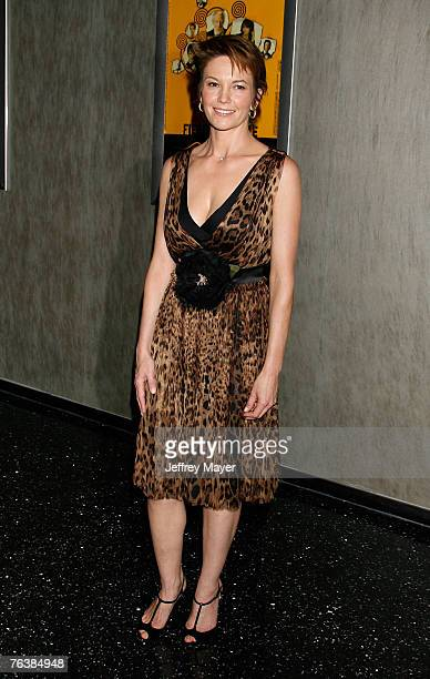 """Actress Diane Lane arrives at the Los Angeles premiere of """"Fierce People"""" at the Pacific Design Center on August 29, 2007 in West Hollywood,..."""