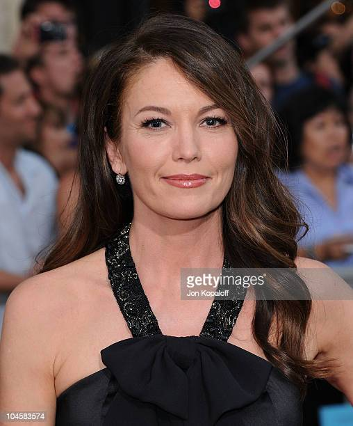 Actress Diane Lane arrives at the Los Angeles Premiere Secretariat at the El Capitan Theatre on September 30 2010 in Hollywood California