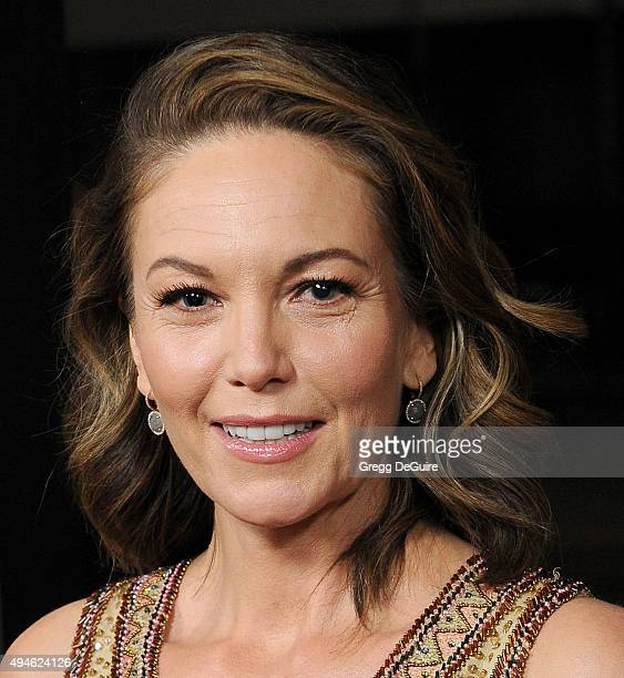Actress Diane Lane arrives at the premiere of Bleecker Street Media's 'Trumbo' at Samuel Goldwyn Theater on October 27 2015 in Beverly Hills...