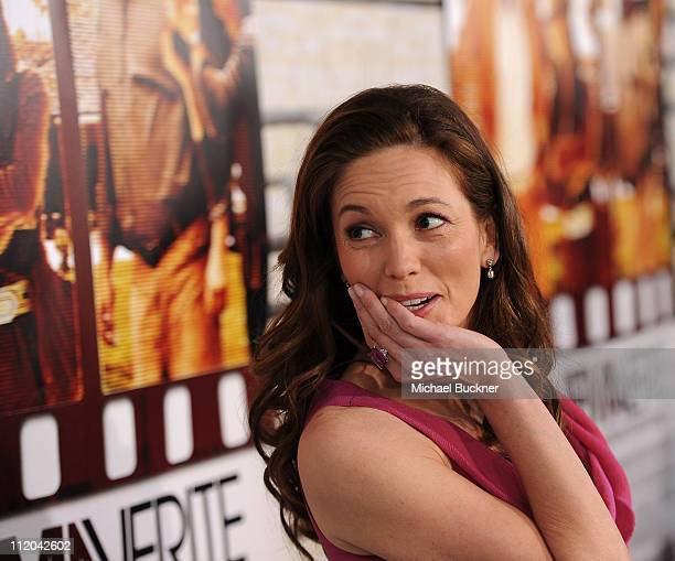 Actress Diane Lane arrives at the premiere of HBO Films' Cinema Verite at the Paramount Theatre on April 11 2011 in Hollywood California