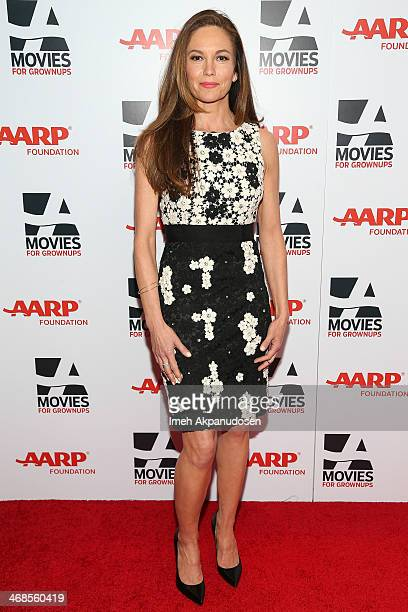 Actress Diane Lane attends the 13th Annual AARP's Movies For Grownups Awards Gala at Regent Beverly Wilshire Hotel on February 10, 2014 in Beverly...