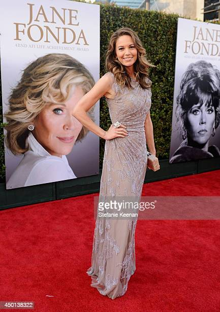 Actress Diane Lane attends the 2014 AFI Life Achievement Award A Tribute to Jane Fonda at the Dolby Theatre on June 5 2014 in Hollywood California...