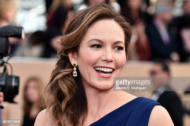 Actress Diane Lane attends the 22nd Annual Screen Actors Guild Awards at The Shrine Auditorium on January 30 2016 in Los Angeles California