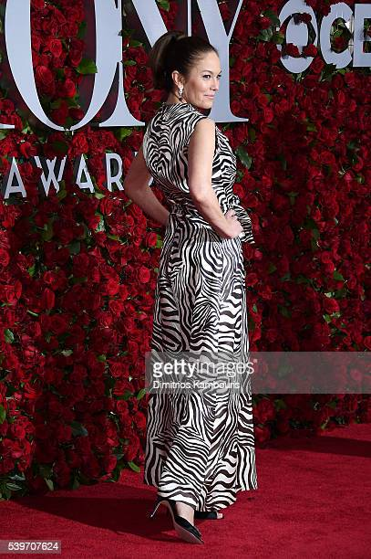 Actress Diane Lane attends the 70th Annual Tony Awards at The Beacon Theatre on June 12 2016 in New York City