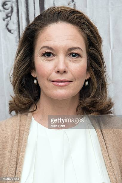Actress Diane Lane attends the AOL Build series to discuss the movie Trumbo at AOL Studios In New York on November 4 2015 in New York City