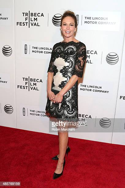 Actress Diane Lane attends the 'Every Secret Thing' Premiere during the 2014 Tribeca Film Festival at BMCC Tribeca PAC on April 20 2014 in New York...