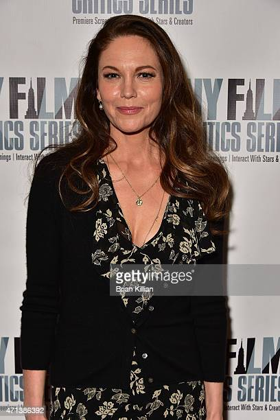 Actress Diane Lane attends the New York Film Critic Series Screening Of 'Every Secret Thing' at AMC Empire 25 theater on April 27 2015 in New York...