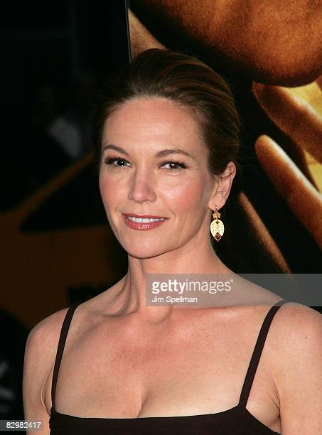 Actress Diane Lane attends the premiere of Miracle at St Anna at Ziegfeld Theatre on September 22 2008 in New York City