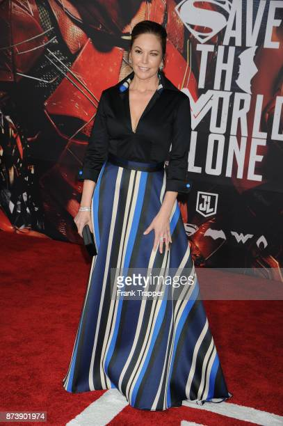 Actress Diane Lane attends the premiere of Warner Bros Pictures' 'Justice League' held at the Dolby Theatre on November 13 2017 in Hollywood...