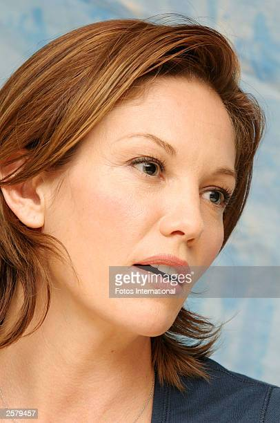 OUT*** Actress Diane Lane attends the press conference for her new film Under the Tuscan Sun at the Four Seasons Hotel on September 13 2003 in...