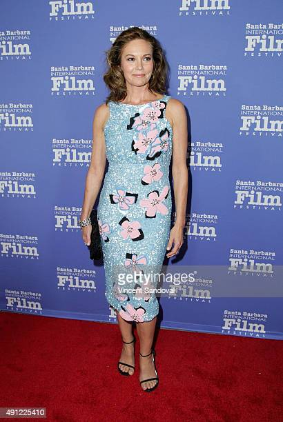 Actress Diane Lane attends the Santa Barbara International Film Festival Annual Kirk Douglas Award for Excellence in Film honoring Jane Fonda at...