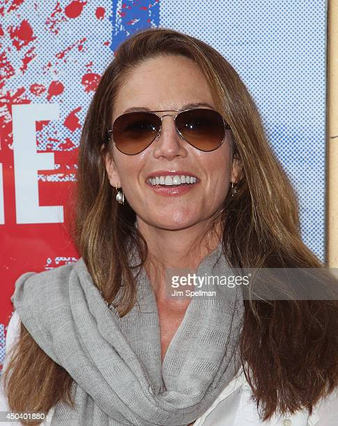 Actress Diane Lane attends the 'The Village Bike' Opening Night at Lucille Lortel Theatre on June 10 2014 in New York City