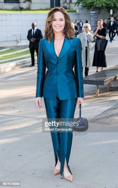 Actress Diane Lane is seen arriving to the 2018 CFDA Fashion Awards at Brooklyn Museum on June 4 2018 in New York City