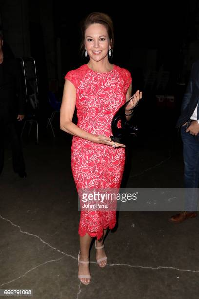 Actress Diane Lane poses for a photo backstage at the closing night ceremony and screening of 'Paris Can Wait' during the 2017 Sarasota Film Festival...