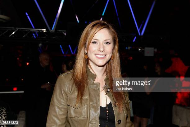 Actress Diane Neal attends the Gen Art Film Festival screening of Teenage Paparazzo after party at Amnesia NYC on April 10 2010 in New York City
