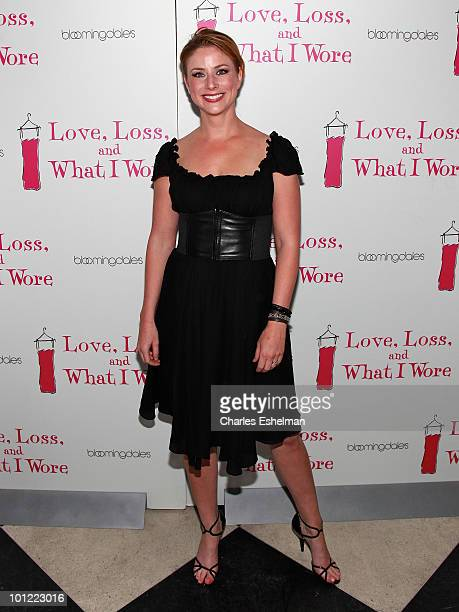 Actress Diane Neal attends the 'Love Loss And What I Wore' new cast member celebration at 44 1/2 on May 27 2010 in New York City