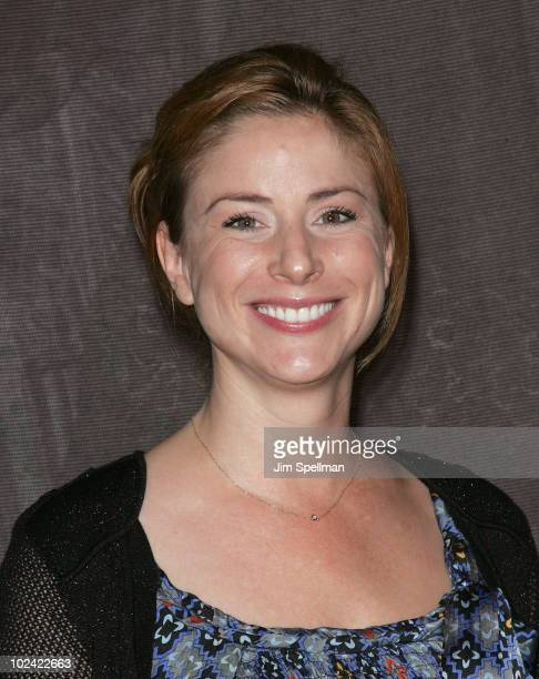 Actress Diane Neal celebrates 300 performances of Love Loss And What I Wore at The Westside Theatre on June 25 2010 in New York City