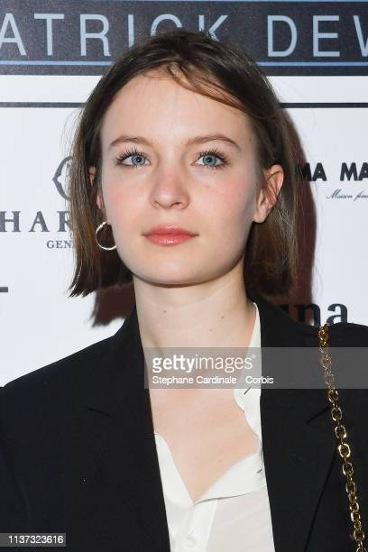 Actress Diane Rouxel attends the 37th Romy Schneider And Patrick Dewaere Awards Nominee Luncheon At Cinema Le Mac Mahon on March 21 2019 in Paris...