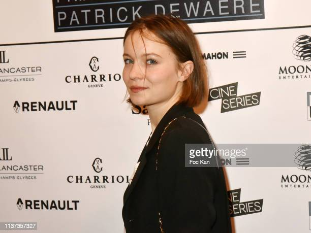 Actress Diane Rouxel attends the 37th 'Romy Schneider And Patrick Dewaere Awards' Nominee Luncheon At Cinema Le Mac Mahon on March 21 2019 in Paris...