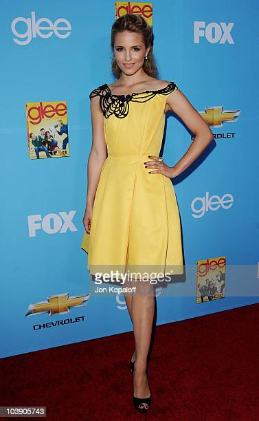 """Actress Dianna Agron arrives at """"Glee"""" Season 2 Premiere Screening And Party at Paramount Studios on September 7, 2010 in Hollywood, California."""